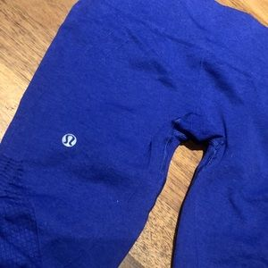 Lulu lemon crop leggings